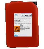 Un bidon d'acidifiant de pH pour l'eau d'élevage