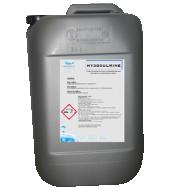 Un bidon d'acidifiant pour l'eau des élevages agricoles