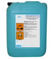 Un bidon de désinfectant acidifiant pour eau d'élevage