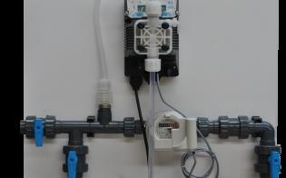 Pompe médicamenteuse électromagnétique pour élevage agricole