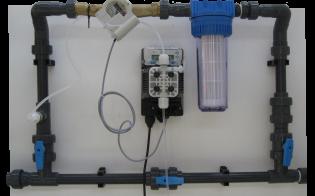 Tableau pour pompe peroxyde