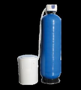 Bonbonne pour la denitratation de l'eau d'élevage